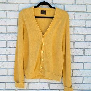 💛Vintage💛 Yellow JC Penny Cardigan